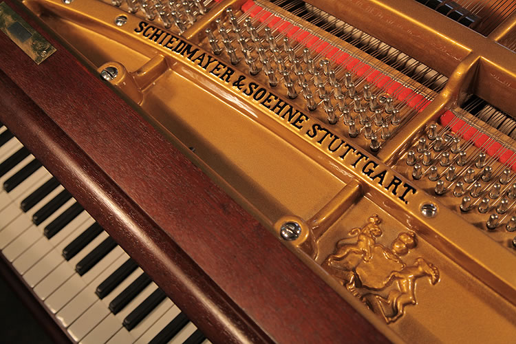 Schiedmayer Model 3 Grand Piano For Sale With An Ornately