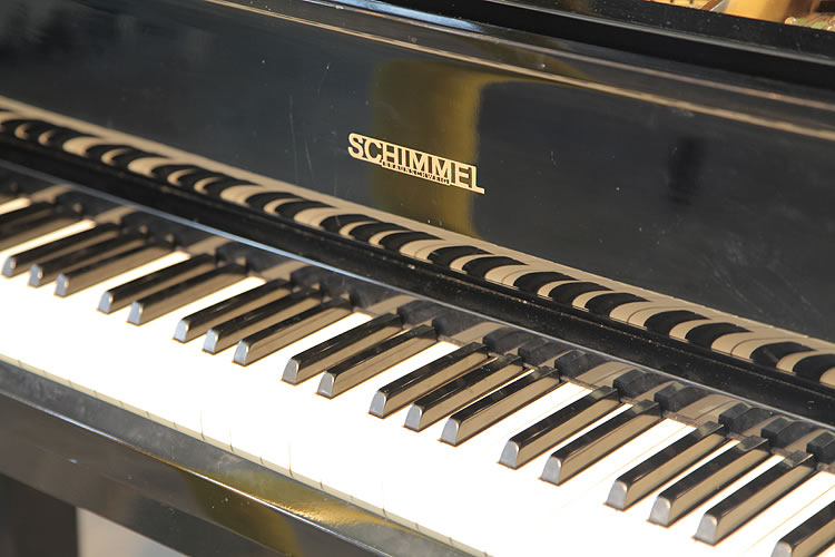 A Schimmel Grand Piano For Sale With A Black Case Modern