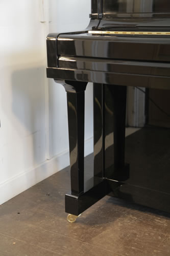 Steinhoven upright piano leg detail