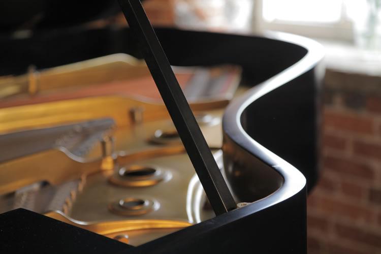 Steinway Model A piano lidstay