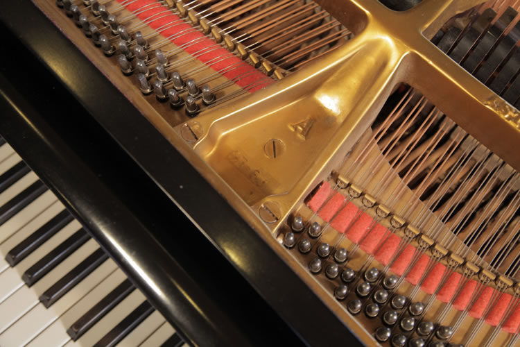 Steinway model A stamp on frame