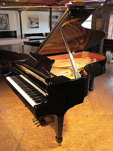 Steinway model b grand piano for sale with a black case for Big grand piano
