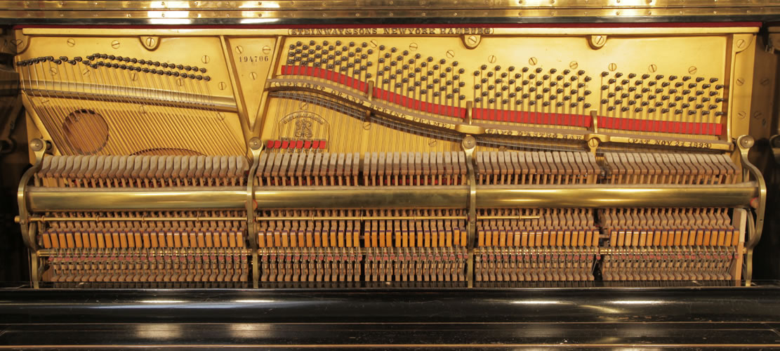 Steinway upright Piano for sale.