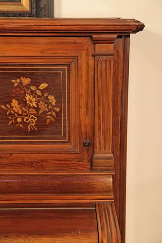 Steinway cabinet detail