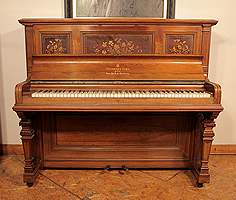 Antique, Steinway  Upright Piano For Sale with a Rosewood Case