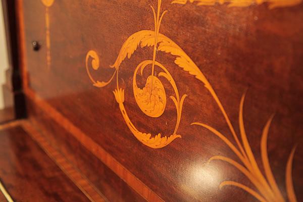 Steinway  inlay  detail