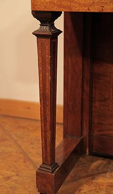 Steinway  inlaid leg  detail