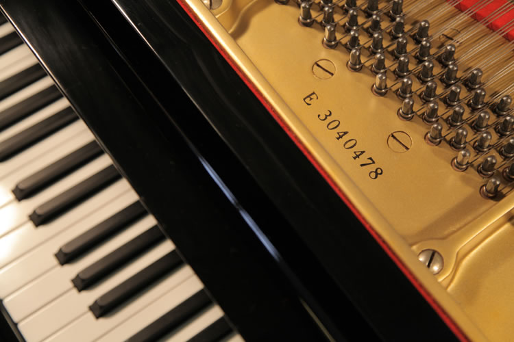Yamaha G3 Grand Piano For Sale With A Black Case Serial