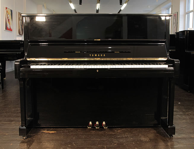 A secondhand, 1973, Yamaha U1 Upright Piano For Sale