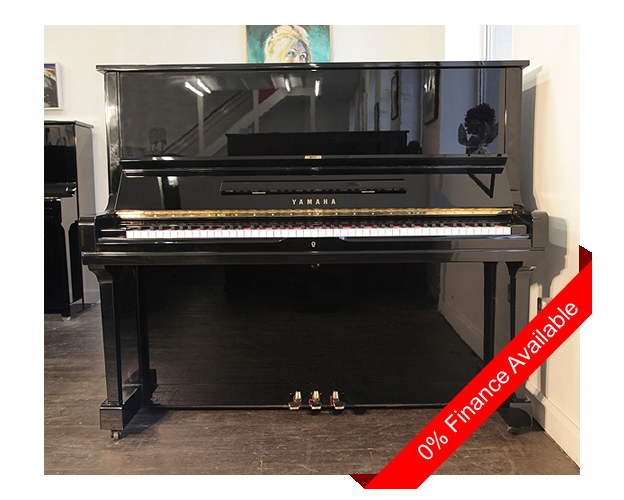 Yamaha u3 upright piano for sale with a black case and for Yamaha digital piano dealers