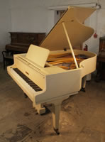A 1926, Bluthner Grand Piano For Sale with a Satin, Ivory Case and Square, Tapered Legs