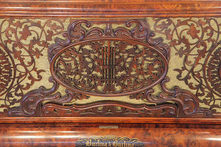 Burling & Burling ornate fretwork front panel