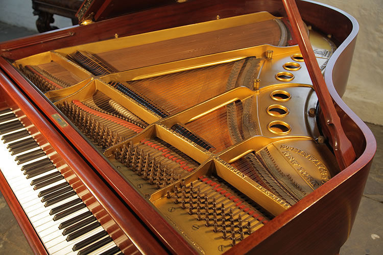 Steinway Model M Grand Piano For Sale With A Mahogany Case