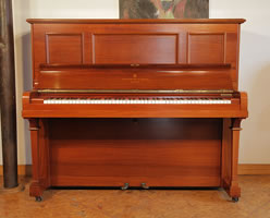 A 1913, Steinway vertegrand upright piano with a rosewood case
