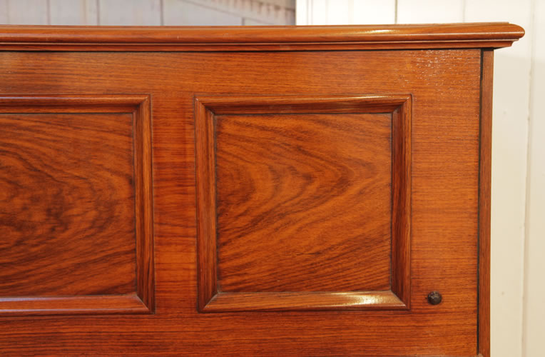 Steinway  upright  piano  panel detail
