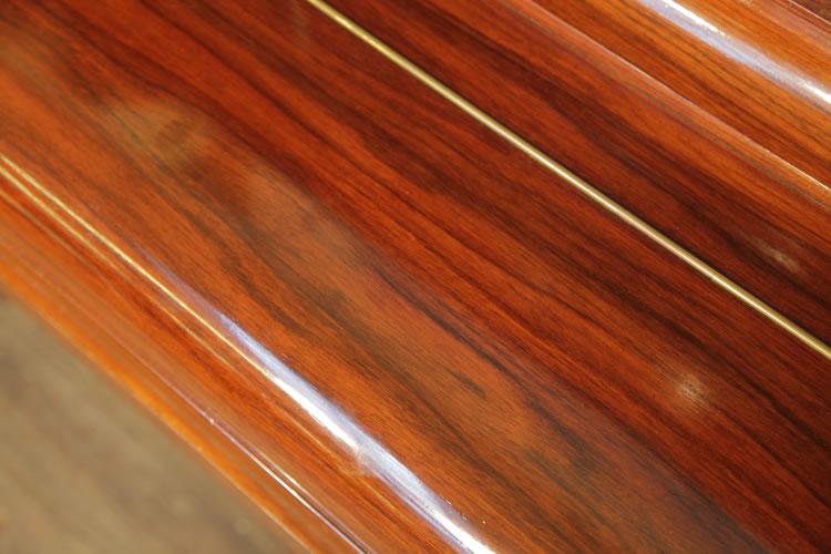 Steinway wood grain detail