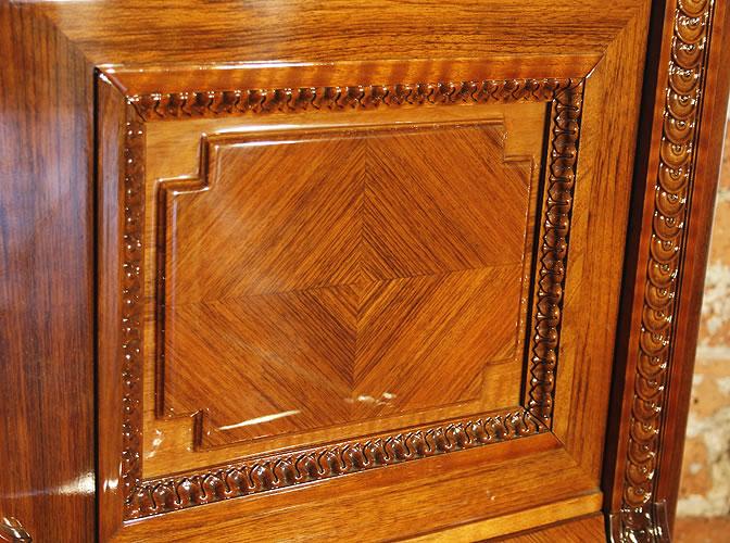 Steinway panel detail