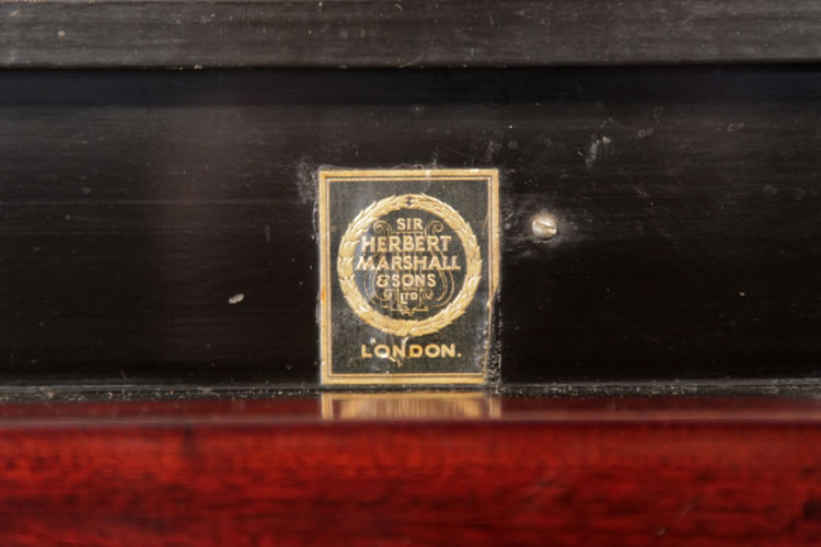 Sir Herbert Marshall & SOns London badge