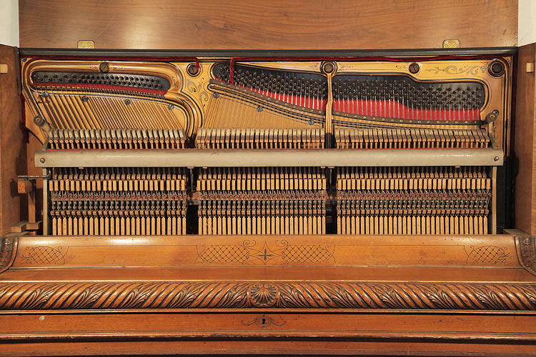 August Roth Upright Piano for sale.