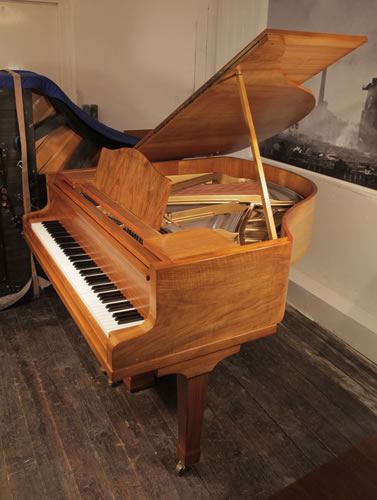 Bluthner baby grand piano for sale with a walnut case and for How big is a grand piano