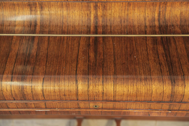 Rosewood grain detail