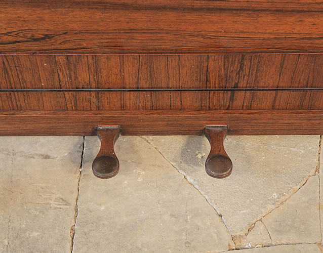 Broadwood Cottage Upright Piano With A Rosewood Case
