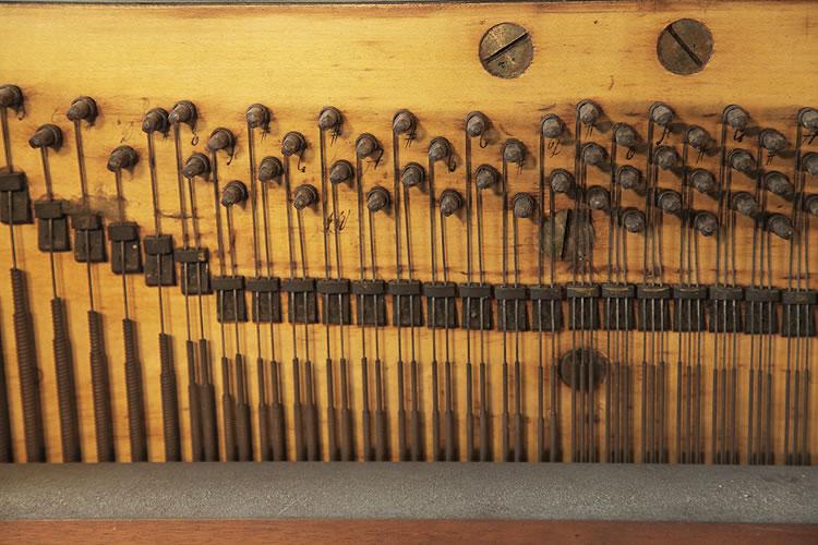 Broadwood tuning pins detail