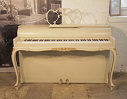 Rococo, Hornung and Moller upright piano