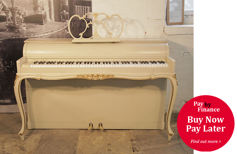 Hornung and Moller upright Piano for sale with a Louis XV style, case.