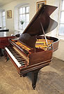 AAn unrestored, 1893, Steinway Model A grand piano for sale with a rosewood case and spade legs.