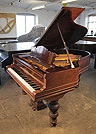 Piano for sale. An unrestored, Steinway Model A grand piano for sale with a rosewood case and stacked cup and cover legs