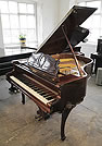Piano for sale. A 1941, Rococo style, August Forster Baby Grand Piano For Sale with a Rosewood Case and Cabriole Legs