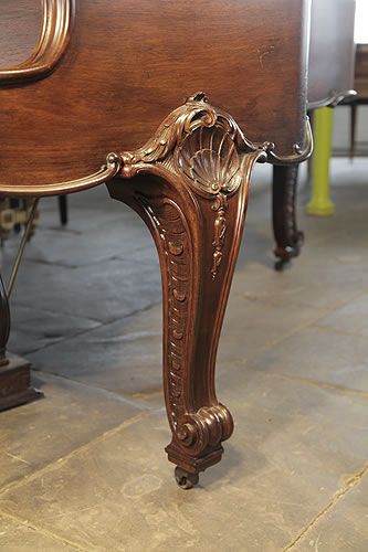 Bluthner Grand Piano For Sale With A Carved Rococo Style
