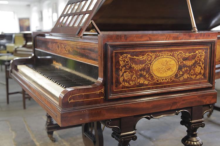 Inlaid Broadwood  Grand Piano for sale.