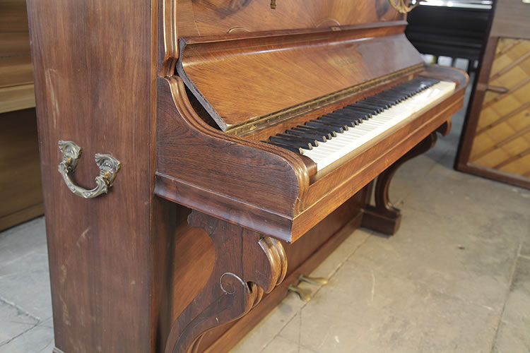 Secondhand, Gaveau Upright Piano for sale.