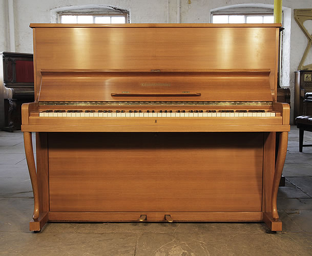 Eisenstein UP121 upright Piano for sale with an walnut case.