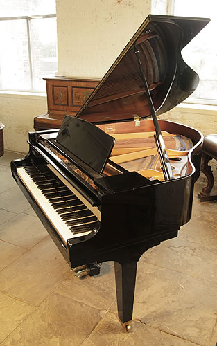 Kawai GE-1 grand Piano for sale with a black case and polyester finish.