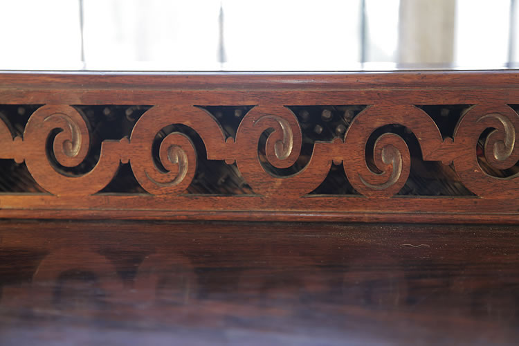 Pape carved fretwork detail