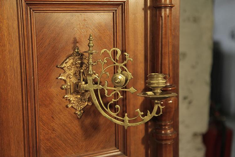 Steingraeber ornate, brass candlesticks
