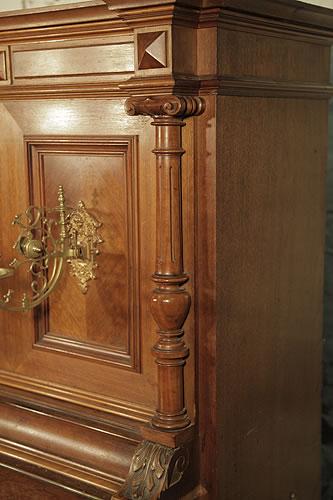 Steingraeber carved ionic pilaster