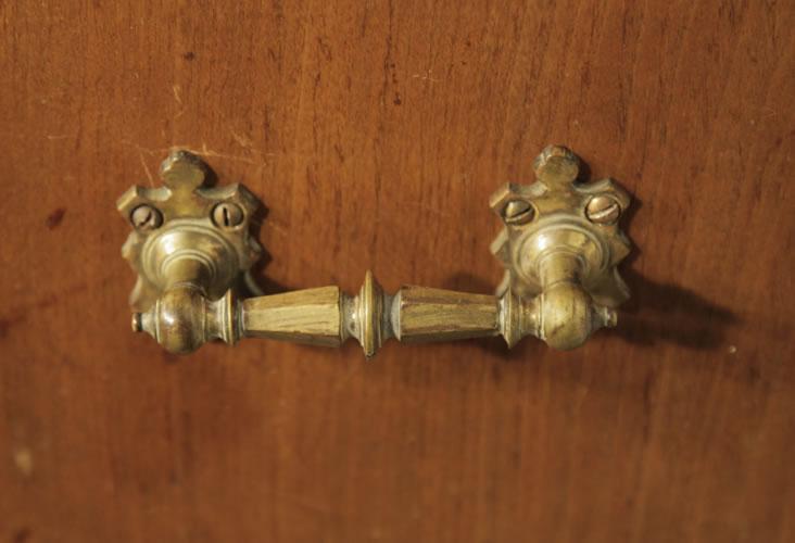 Steingraeber ornate brass handles