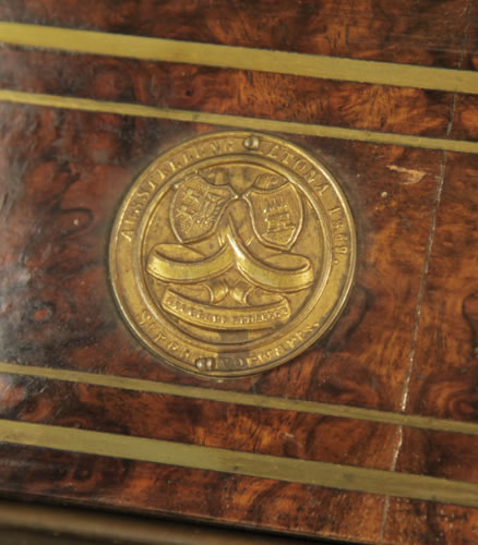 Medal on piano fall AUSTELLUNG ALTONA 1889 SILBERNE MEDAILLE - World Fair Altona 1889 Silver Medal