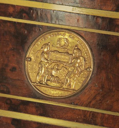 Steingraeber medal on piano fall EXPOSITION UNIVERSELLE DE MDCCCLXVII PARIS - Paris Universal Exhibition 1867