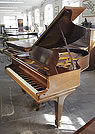 Piano for sale. A 1905, Steinway Model O grand piano with a rosewood case and spade legs