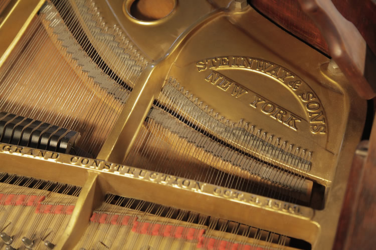 Steinway manufacturers name on frame. We are looking for Steinway pianos any age or condition.