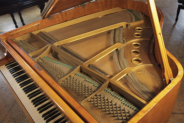Steinway Model S Baby Grand Piano For Sale With A Flame