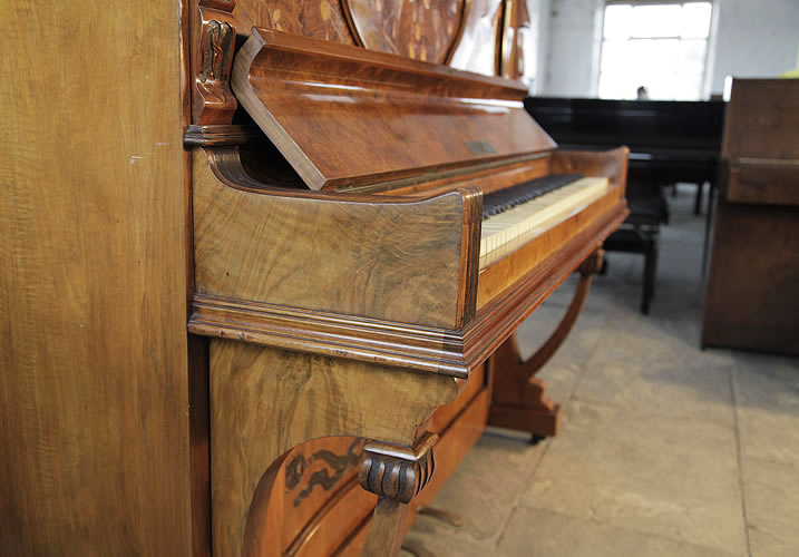 Waddington Upright Piano For Sale With An Art Nouveau
