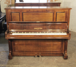 Piano for sale. A 1909, Bechstein model 9 upright piano with a rosewood case