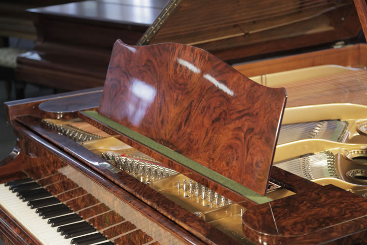 Bechstein Model B Grand Piano For Sale With A Burr Walnut