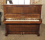 Piano for sale. An 1890, Bechstein upright piano with a rosewood case